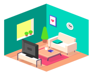 Isometric Graphic Illustration