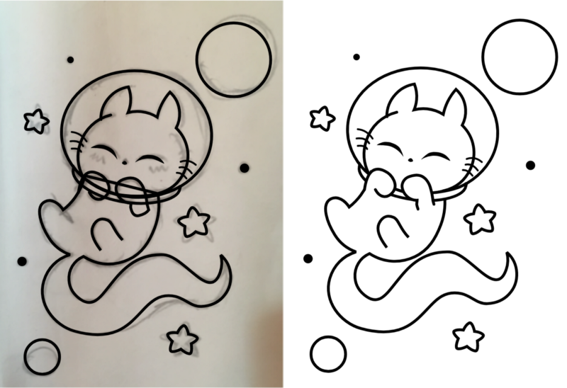 Finished lineart.