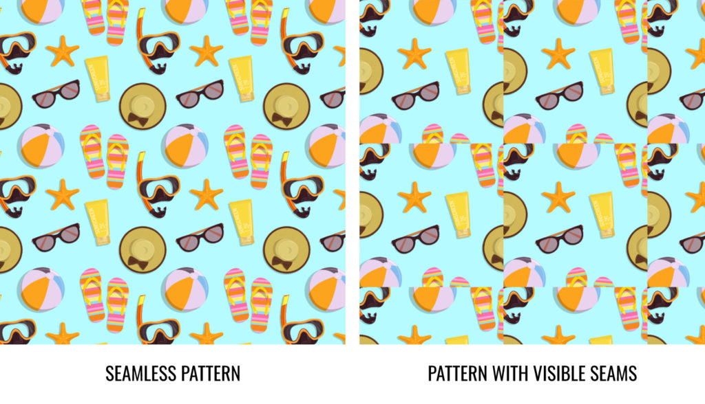 Comparison of types of patterns.